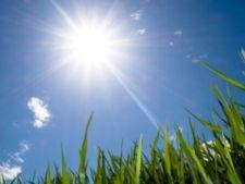 Vremea in weekend: temperaturi de 25 de grade