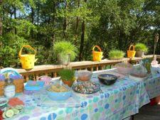 Cum sa organizezi o petrecere de Paste in gradina ta