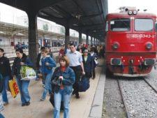 Bilete de tren low cost de 1 Mai