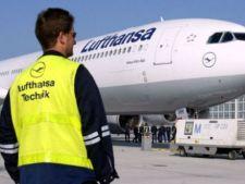 Compania Lufthansa si-a anulat aproape toate zborurile