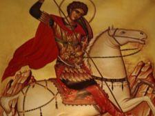 Aproape un milion de romani isi serbeaza astazi onomastica de Sfantul Gheorghe