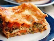 Lasagna de post cu legume