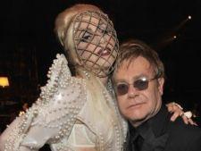 Lady Gaga va boteza cel de-al doilea copil al lui Elton John
