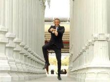 Obama s-a laudat in fata sud-coreenilor ca stie sa danseze