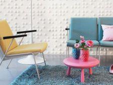 Pereti decorati 3D: 5 modele avangardiste pentru locuinta