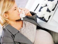 Infectiile gripale in timpul sarcinii pot afecta creierul fatului