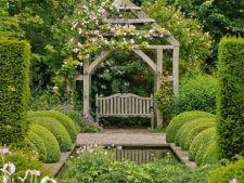 Amenajarea gradinii pentru un refugiu romantic acasa