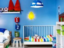 Cum sa decorezi peretii din camera bebelusului: 8 idei interesante
