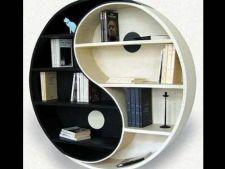 Biblicioteci cu design ciudat pentru casa ta
