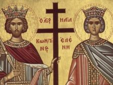 Romanii serbeaza astazi Sfintii Constantin si Elena