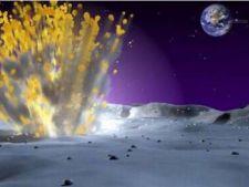 Explozie pe Luna, vizibila cu ochiul liber