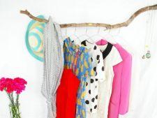 5 suporturi improvizate pentru haine, care inlocuiesc cu succes un sifonier clasic