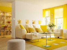 5 idei de design cu sofisticata nuanta galben