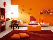 4 stiluri de design cu vibranta culoare portocaliu