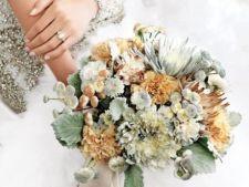 8 buchete de mireasa pe care le poti face din florile din gradina