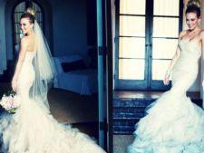4 rochii de mireasa purtate de vedete din care poti sa te inspiri