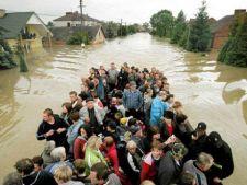 Cod portocaliu de inundatii in Moldova