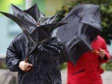 O noua avertizare de Cod galben de ploi torentiale
