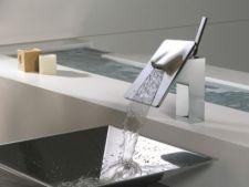 Bateriile-cascada pentru baie: estetice, dar sunt si functionale?