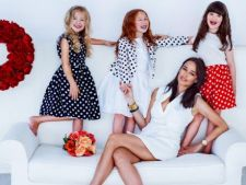 Vara asta se poarta bulinele! Prima colectie de haine pentru copii lansata de Andreea Raicu