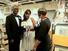 Nunta inedita intr-un magazin Ikea