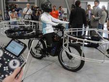 Cehii au prezentat bicicleta zburatoare