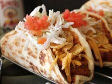 Tacos cu fulgi de porumb si carne de vita