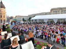 Piata George Enescu se transforma intr-o gradina muzicala. Incepe Bucharest  Music Film Festival