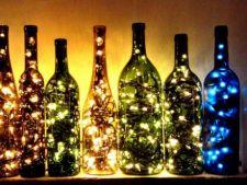 3 moduri creative sa refolosesti sticlele goale dupa o petrecere