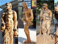 Povestea artistului care transforma copacii uscati in sculpuri surprinzatoare