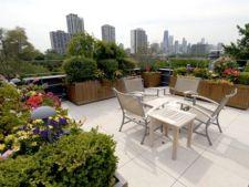 4 moduri de amenajare a unei gradini pe acoperis