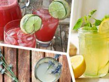 3 retete de limonada cu care sa te racoresti pe canicula
