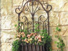5 decoratiuni din fier forjat pentru gradina ta de basm