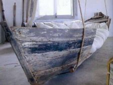 4 decoratiuni pentru gradina realizate dintr-o barca veche
