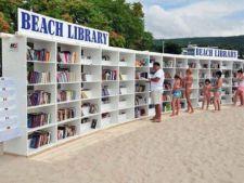 A fost lansata prima biblioteca pe plaja