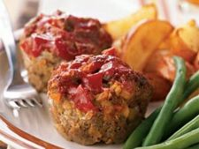 Muffins delicioase din carne de vita, perfecte pentru cina