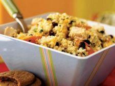 Salata sofisticata de cuscus cu pui si legume
