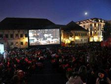 Filme in aer liber in Parcul Tineretului