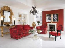 Tendinte 2013: decorarea casei cu mobila rosie