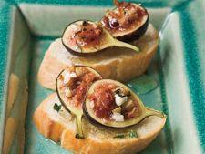 5 aperitive exotice de vara cu smochine proaspete