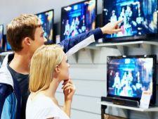 Romanii investesc mai multi bani in televizoare, decat in electrocasnice