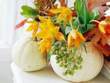 4 aranjamente florale superbe, pentru inceputul toamnei