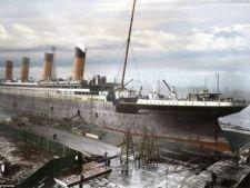 Vasul Titanic, pentru prima oara in imagini color