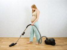 Treburi casnice pe care ar trebui sa le eviti in timpul sarcinii