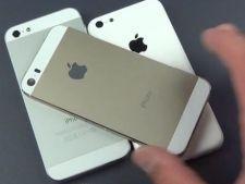 iPhone-ul 5S cu carcasa aurie apare intr-un filmulet alaturi de modelul 5C