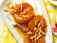 Caise fierte cu miere si iaurt