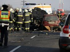 Accident grav in Ungaria. Printre raniti se afla si trei romani