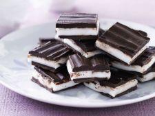 Prajituri savuroase cu ciocolata neagra si menta