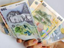 Salarii mai mari pentru romani in luna iulie