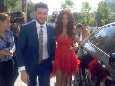 Bianca Dragusanu si Victor Slav au pus capat tuturor zvonurilor. S-au casatorit civil in urma cu cat